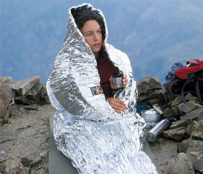 Chăn giữ nhiệt sinh tồn khẩn cấp - chống lạnh giữ ấm cơ thể tuyệt vời 2