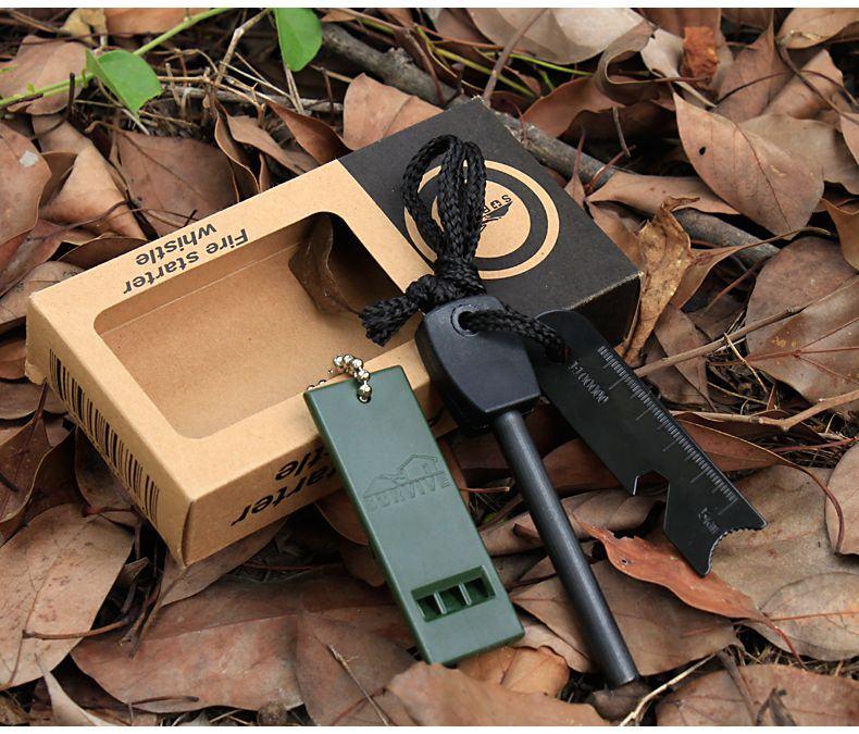 Đá đánh lửa sinh tồn - vật dụng thiết yếu khi đi phượt rừng núi