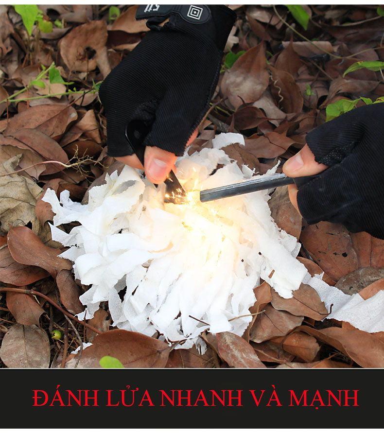 Đá đánh lửa sinh tồn - vật dụng thiết yếu khi đi phượt rừng núi 12