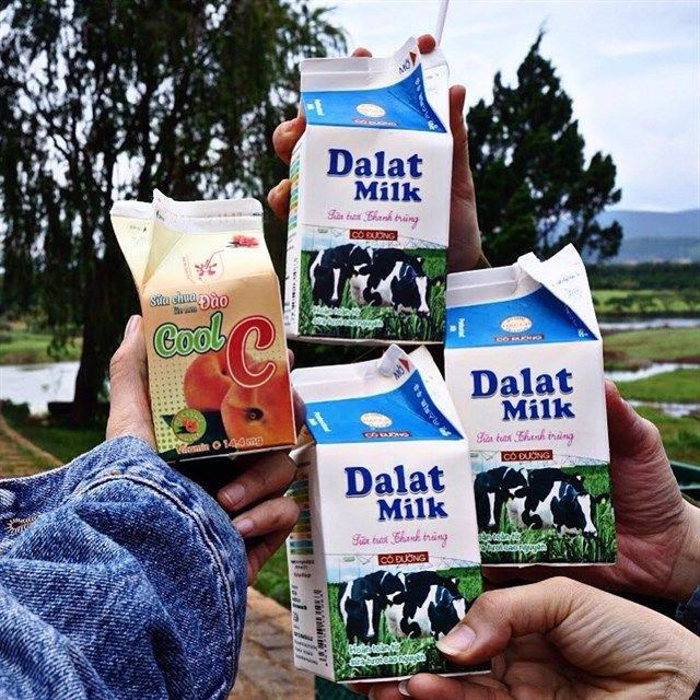 sữa tươi đà lạt milk