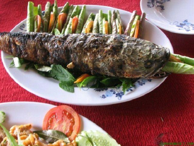 cá lóc nướng an giang