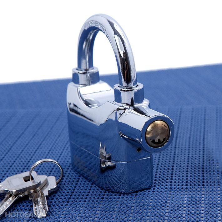 ổ khóa kinbar có còi báo động