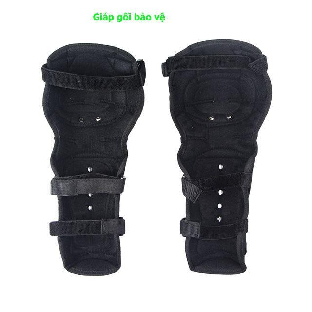 bộ giáp tay chân inox