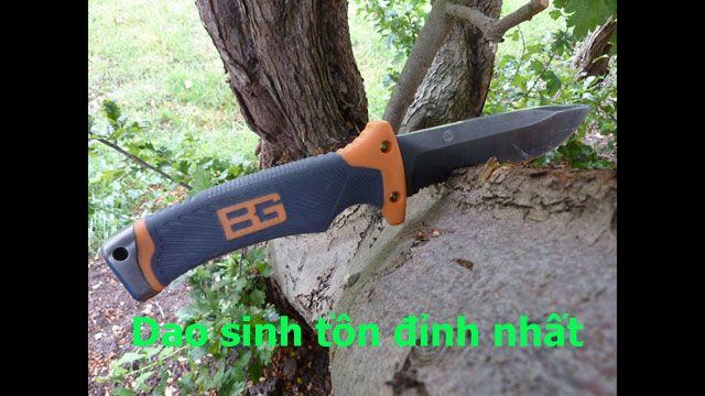 dao sinh tồn gerber bear grylls ultimate pro fixed