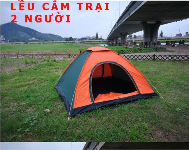 lều cắm trại tự động bung