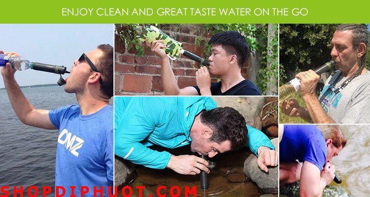 dụng cụ lọc nước
