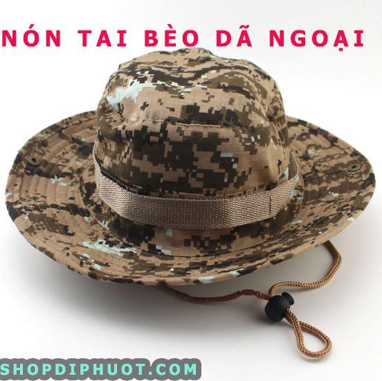 mũ tai bèo quân đội