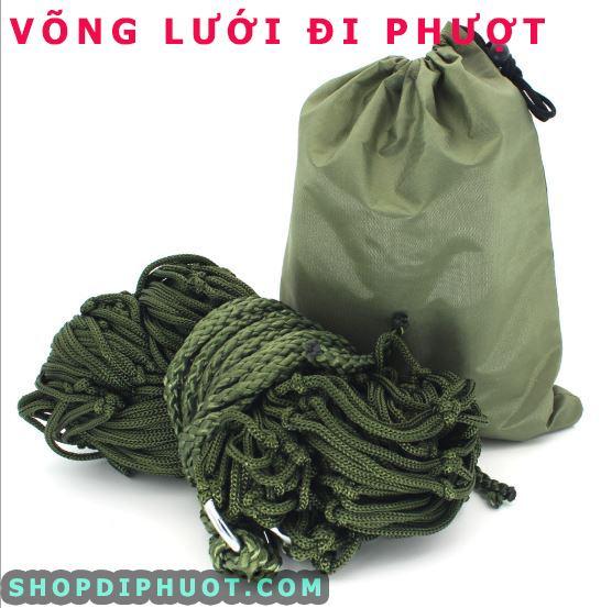 Võng lưới xanh quân đội Y010 - SHOP ĐI PHƯỢT 1