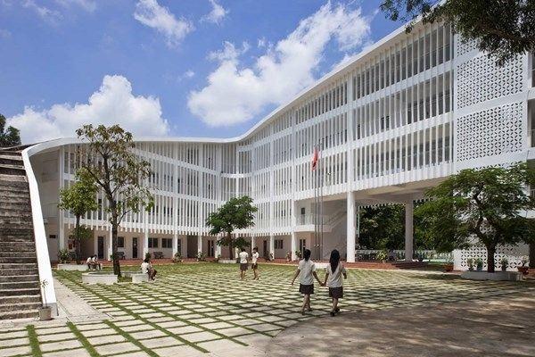 Những ngôi trường có kiến trúc đẹp nhất Việt Nam