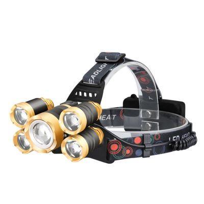 Đèn pin đội đầu siêu sáng DP03 | led Cree 5 bóng