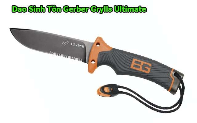 Dao sinh tồn Gerber Bear Grylls Ultimate Knife