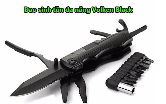 Dao sinh tồn đa năng Volken Black